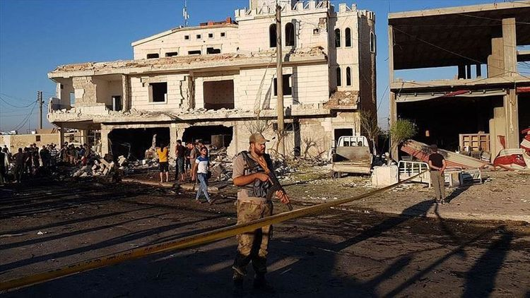 Five dead, 85 wounded in car bomb attack in Syria