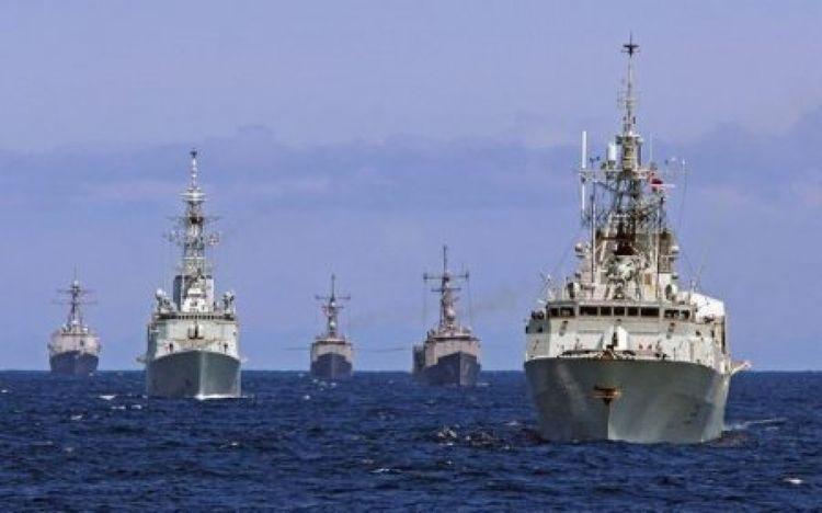 Multinational military exercises start in Black Sea