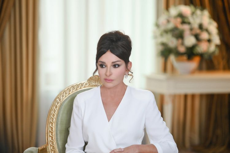 First Vice President of Azerbaijan Mehriban Aliyeva appeals to people regarding Armenia military provocations at border