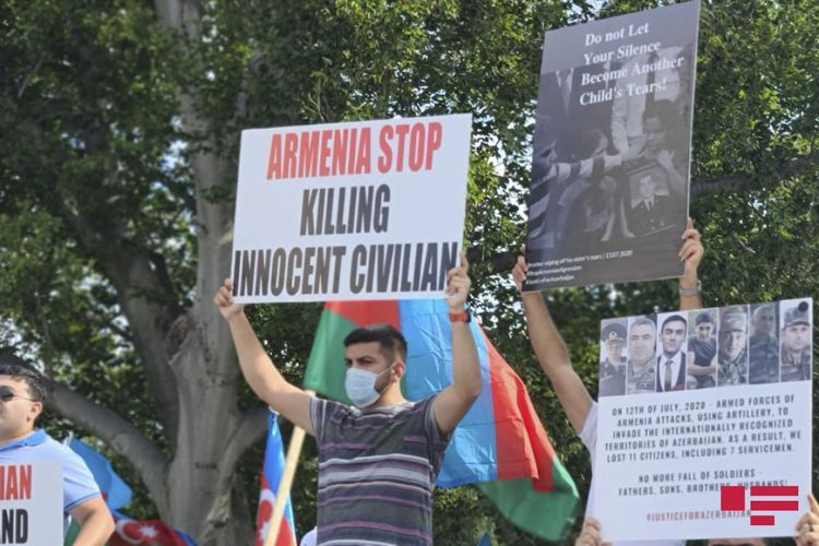 A rally in support of the Azerbaijani Army is being held in Washington - <span class='red_color'>PHOTO</span> - <span class='red_color'>VIDEO</span>