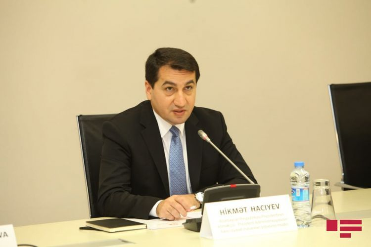 """Hikmat Hajiyev: """"Armenia has deliberately turned Metsamor issue which poses serious threat for region, into show"""""""