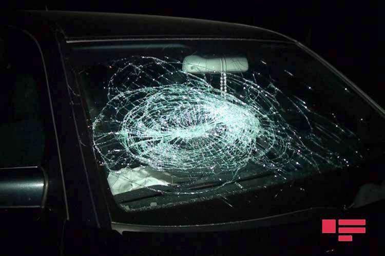 Goranboyda piyadanı avtomobil vurub