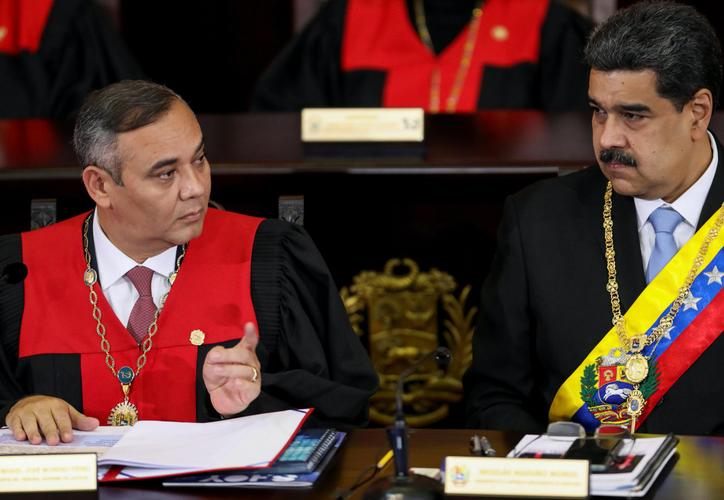 U.S. seeking arrest of Venezuela chief justice, offers reward for info