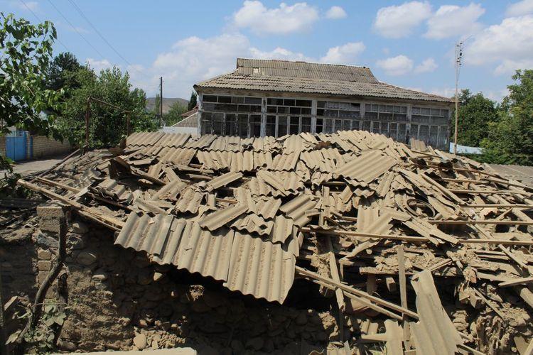 Damage caused by Armenia