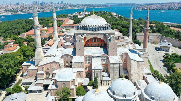 Hagia Sophia ready to open for Muslim Friday prayers