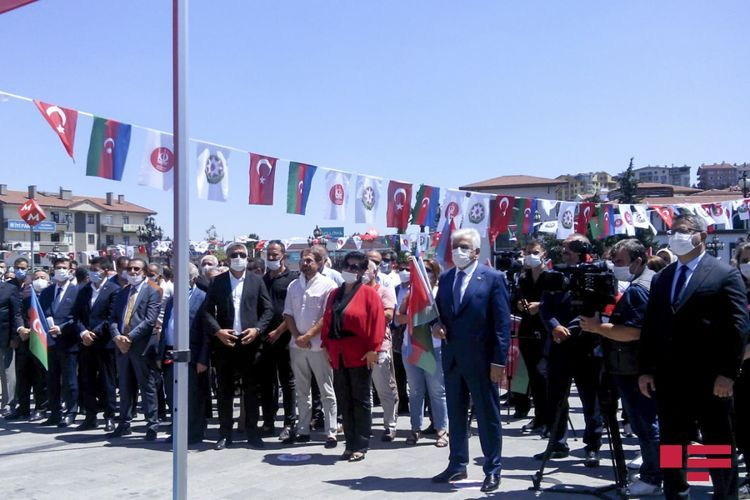 Campaigns held in Turkey in order to support Azerbaijan continue - PHOTO