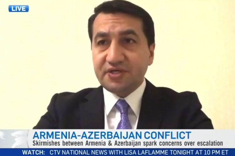 Помощник президента: Цель Армении - создать угрозу коридору Восток-Запад и нефтегазопроводам Азербайджана