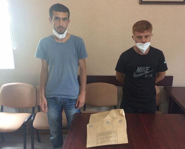 Biləsuvarda iki nəfər şəxs 2 kiloqramdan çox heroinlə saxlanılıb