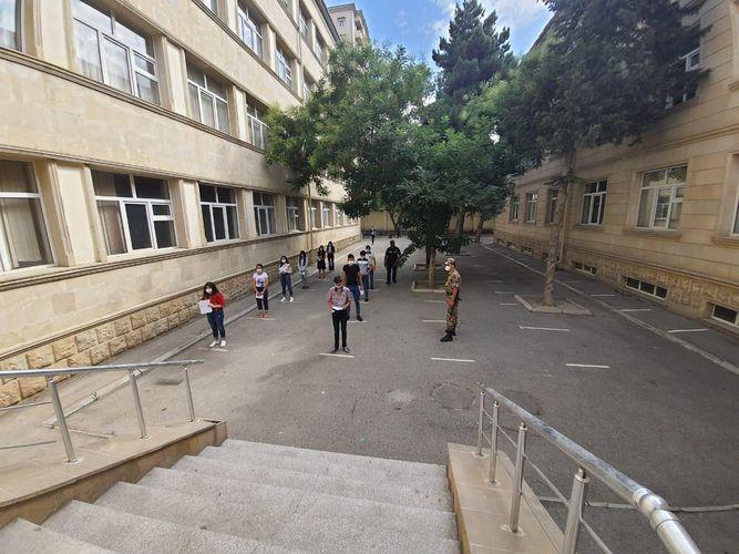 BŞBPİ: İmtahan keçirilən ünvanlarda təhlükəsizliyin təmin olunması üçün bütün zəruri tədbirlər icra olunur