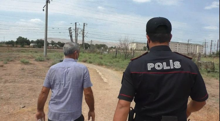 Torpaq yolla Qubaya sərnişin daşıyan sürücülər həbs edilib - FOTO