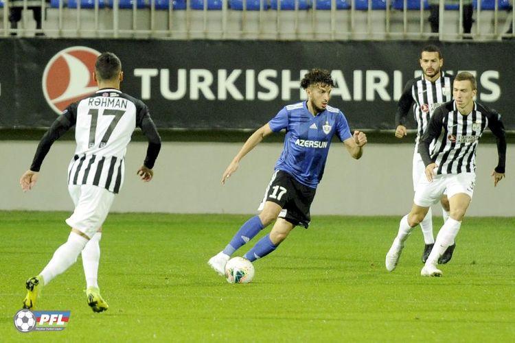 """""""Qarabağ"""" yoxlama oyununda """"Neftçi""""yə qalib gəlib"""
