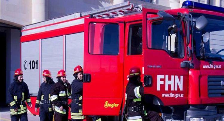 Пожар на холмистой местности в Баку потушен