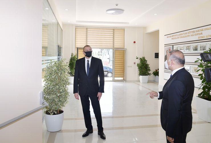 Президент принял участие в церемонии ввода в эксплуатацию электроподстанции «Агджабеди-2» - ОБНОВЛЕНО