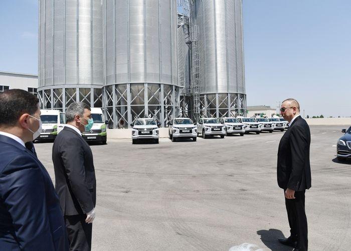 В Агджабеди сдан в эксплуатацию завод по переработке семян зерновых культур - ОБНОВЛЕНО