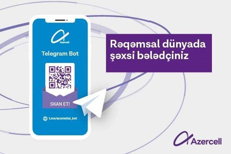 Компания Azercell представила услугу Telegram Bot