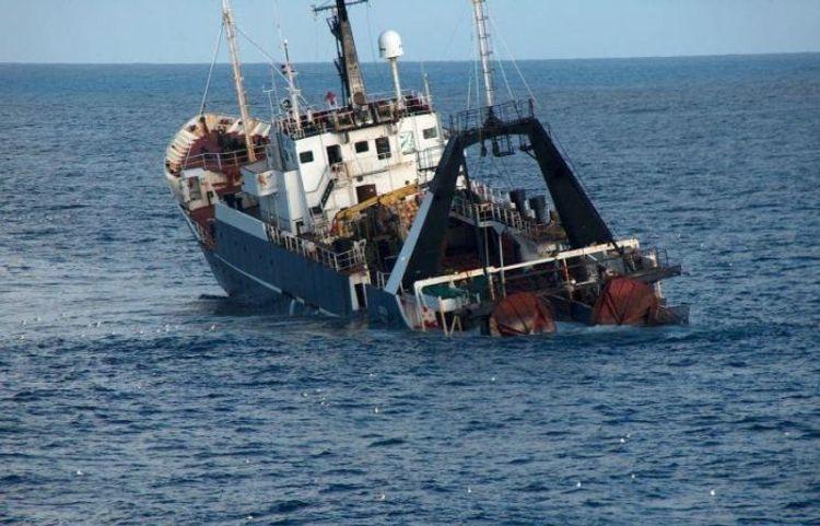 Iranian cargo ship sinks in Iraqi waters
