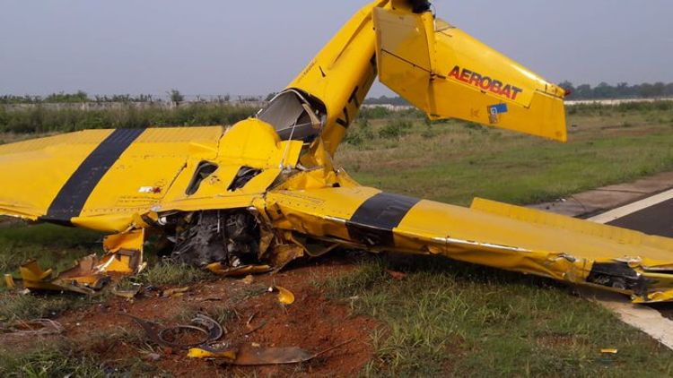Two killed as American-origin trainer aircraft crashes in India