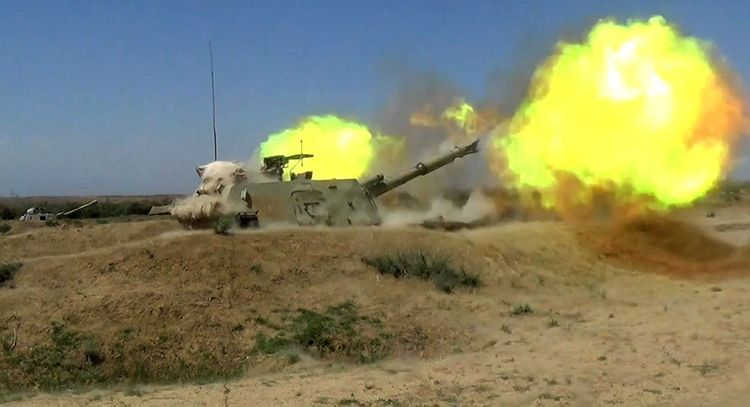 Azerbaijani MoD: Artillery units conducted live-fire exercises - <span class='red_color'>VIDEO</span>