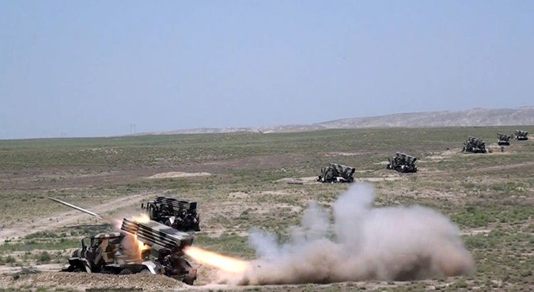Azerbaijani MoD: Artillery units conducted live-fire exercises - <span class=