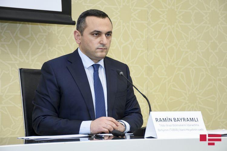"Ramin Bayramli: ""We don't experience lack of medicines"""