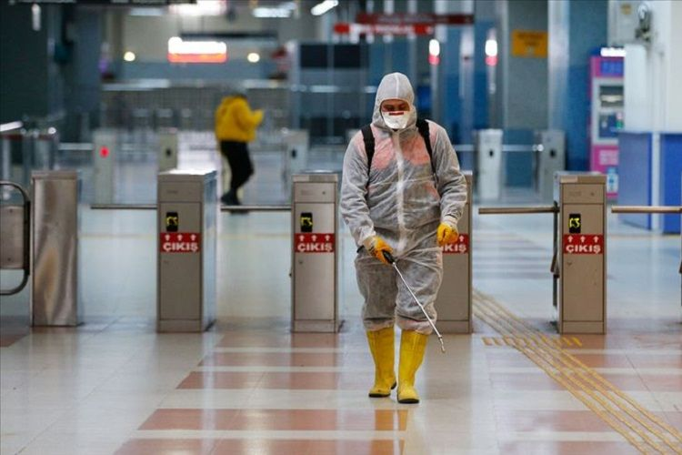 Türkiyədə indiyədək 172 mindən çox insanda koronavirus aşkarlanıb