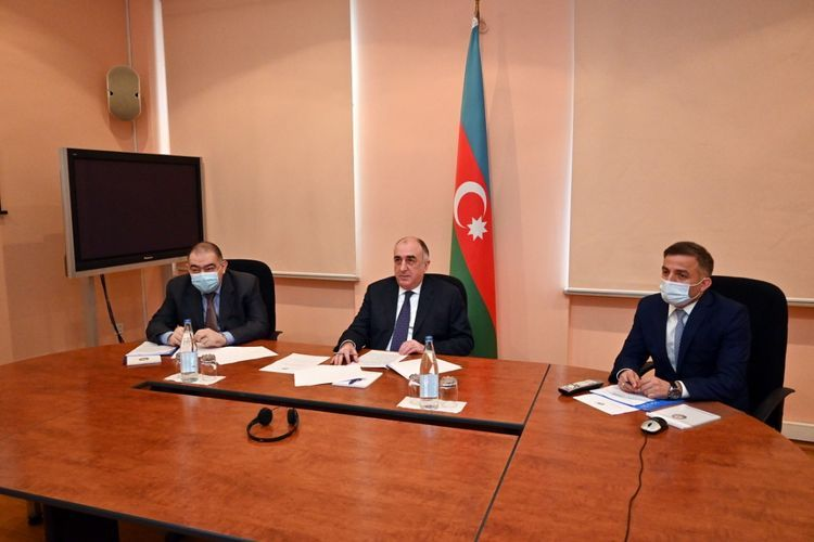 """Azerbaijani FM: """"Use of force for the acquisition of territory is inadmissible under international law"""""""