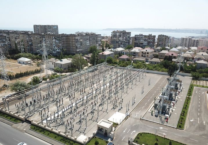President Ilham Aliyev inaugurated Ahmadli substation owned by AzerEnergy in Khatai district, Baku - <span class='red_color'>UPDATED</span>