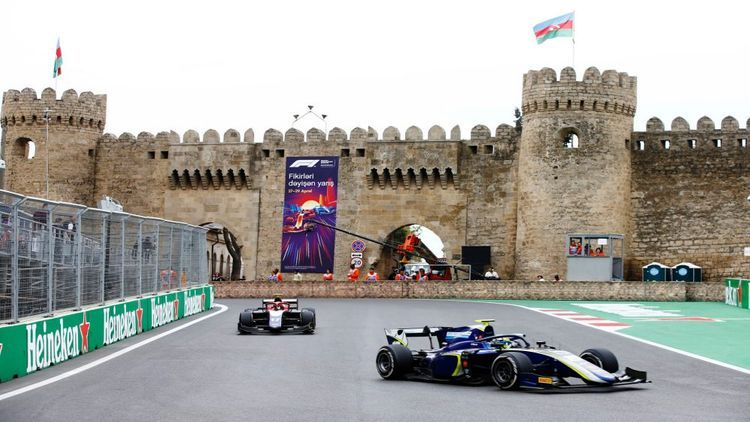 Formula-1 Azerbaijan Grand Prix officially cancelled