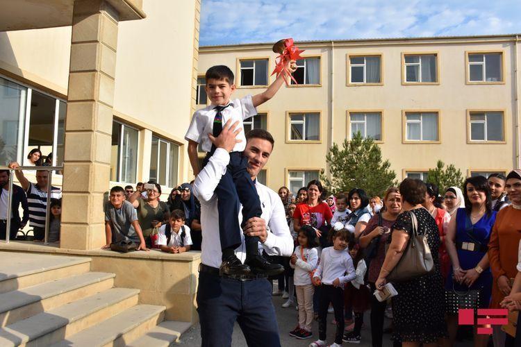 Azerbaijan's Education Minister rings the