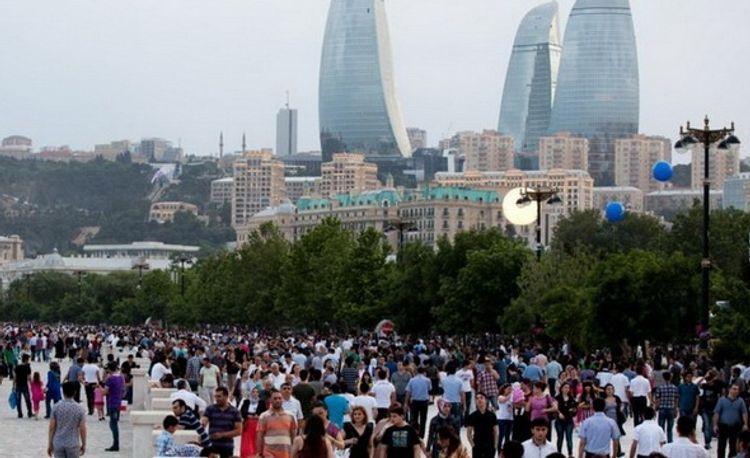 49.9 percent of population in Azerbaijan are males, 50.1 percent – females