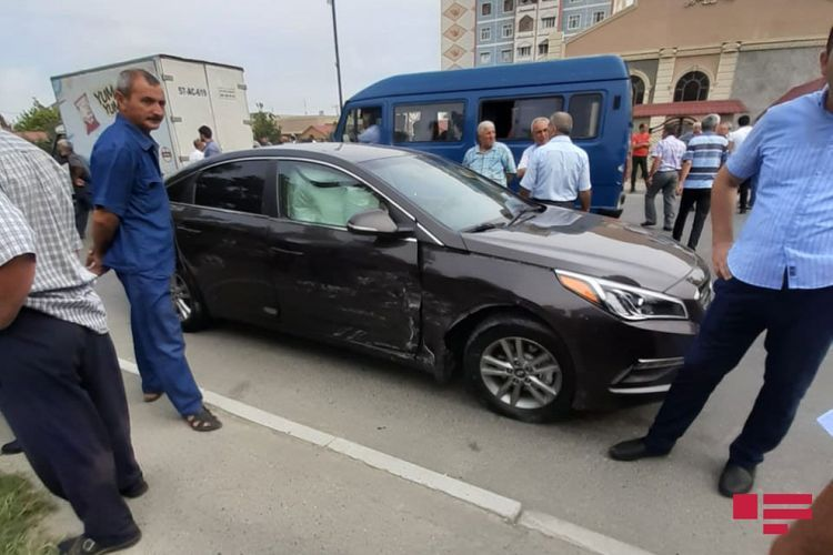 Collision of two cars in Azerbaijan's Mingachevir leaves 2 dead, 3 injured - <span class='red_color'>PHOTO</span>