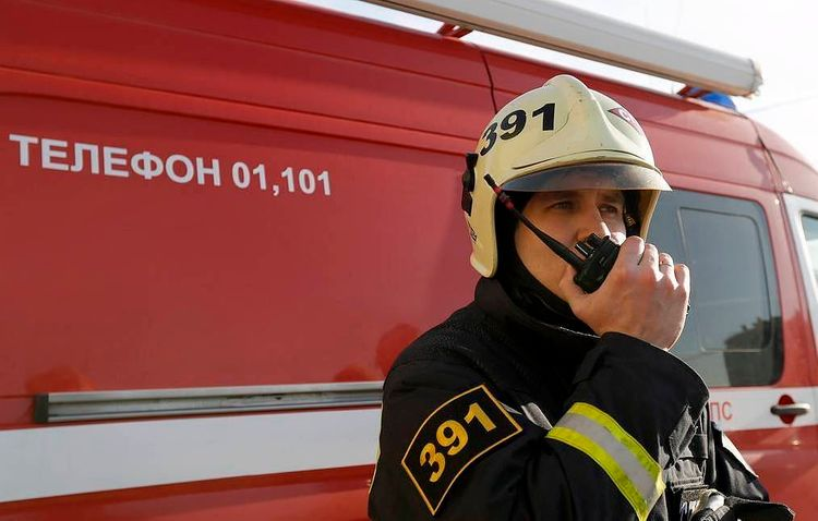 Fire at gas distribution station in Kazan contained - <span class=