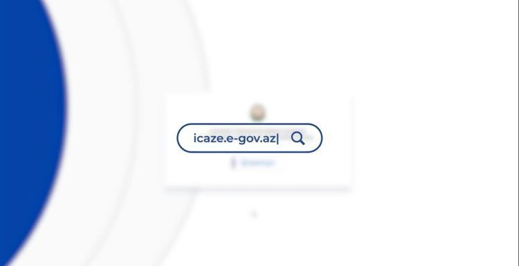 """If information about those allowed to operate is entered into the portal """"icaze.e-gov.az"""", it can go out into the street"""