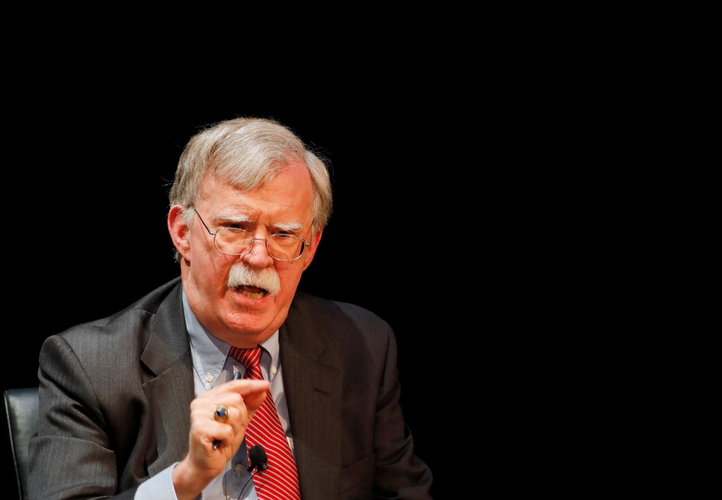 Trump says ex-adviser Bolton breaks law if he publishes book