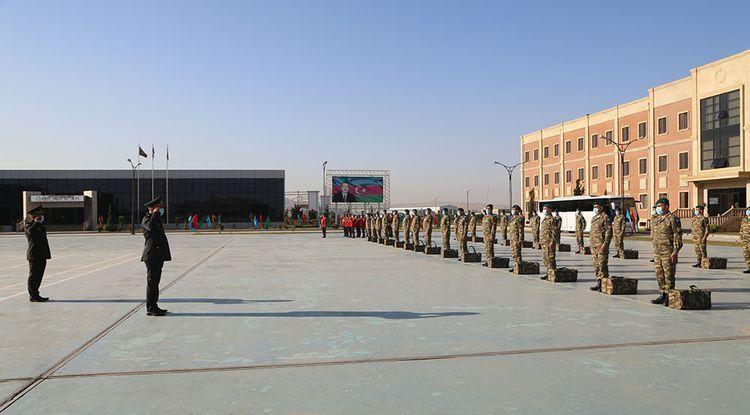 A group of Azerbaijani peacekeepers was sent to Afghanistan