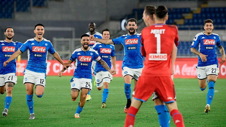 Napoli beats Juventus on penalties to win Coppa Italia final