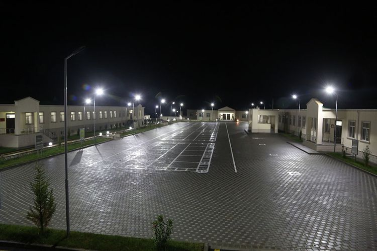 Azerbaijani Minister of Defense took part in the opening of another new military unit in the frontline zone  - <span class='red_color'>VIDEO</span>
