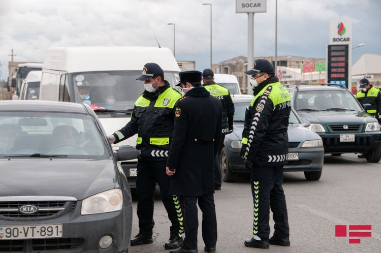 Main State Road Police Department warns people traveling from Baku, Sumgait and Absheron to Azerbaijan's regions