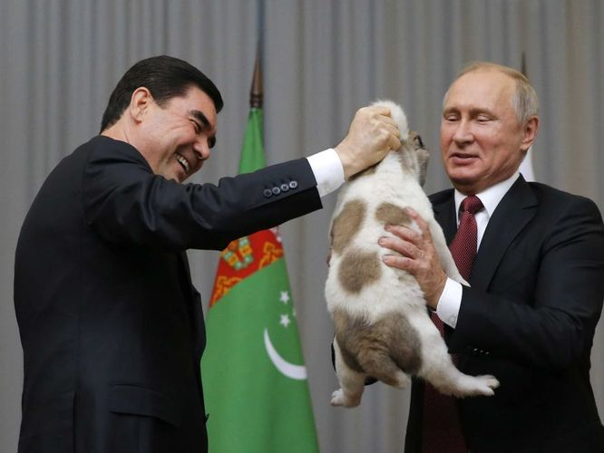 Turkmenistan's president tells Putin cannot visit Russia for Victory Day Parade