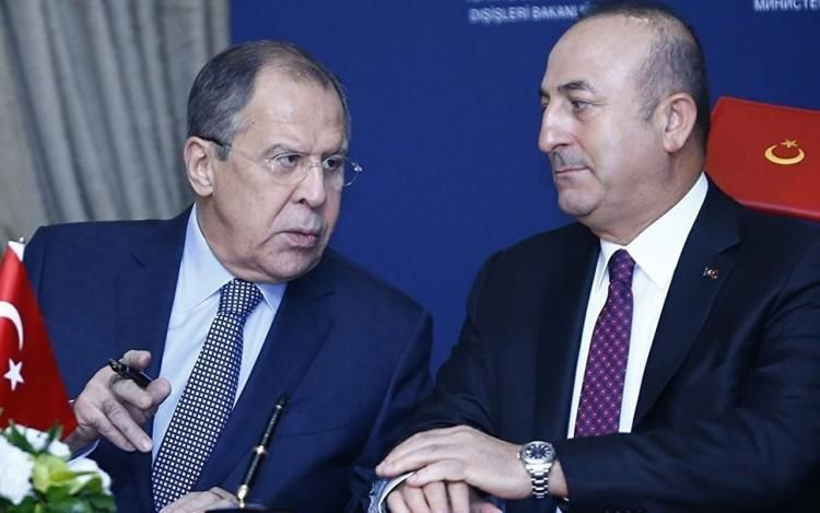 Phone conversation held between Turkish and Russian FMs
