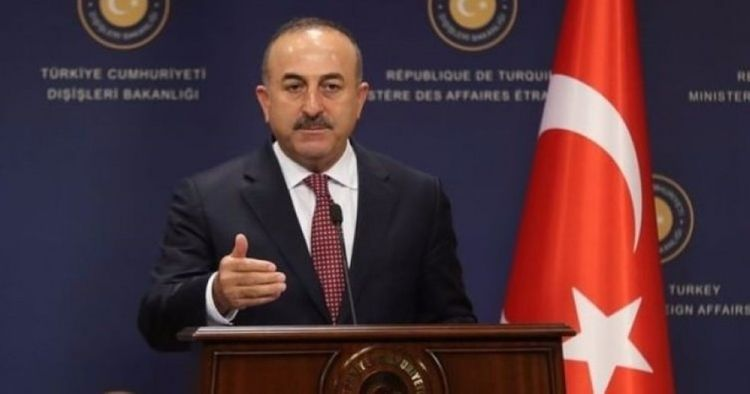"""Turkish FM: """"As in all issues, we stand by brotherly Azerbaijan in the Karabakh problem"""""""
