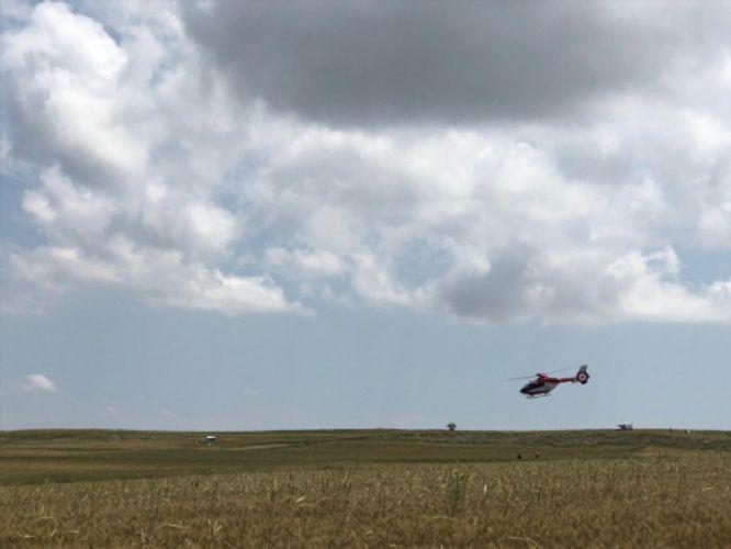 Training plane crashed in Turkey