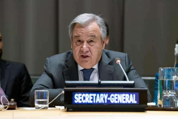 UN Secretary-General thanks COVID-19 frontline workers