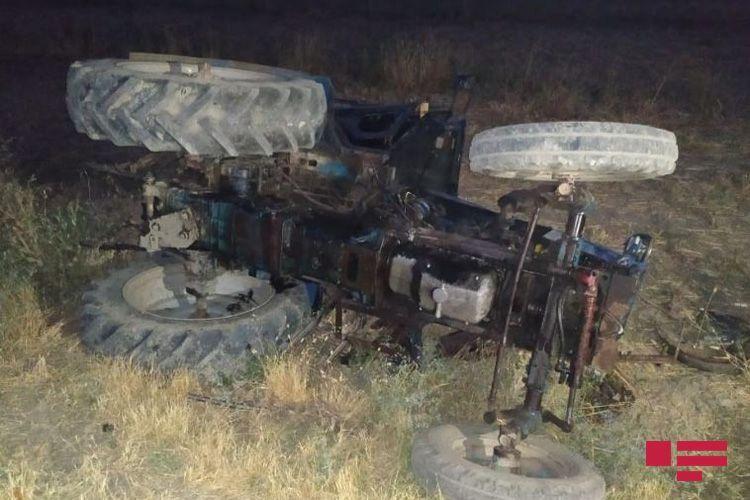 Bərdədə uşağın atasının idarə etdiyi traktorun aşması nəticəsində ölməsi faktı ilə bağlı cinayət işi başlanıb