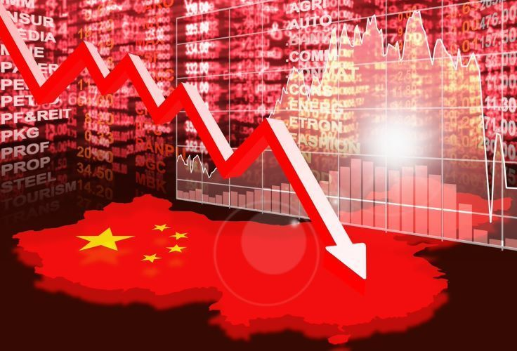China in recession and heading for full-year decline