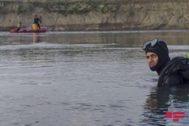 Yuxarı Qarabağ kanalında batan şəxsin meyiti çıxarılıb
