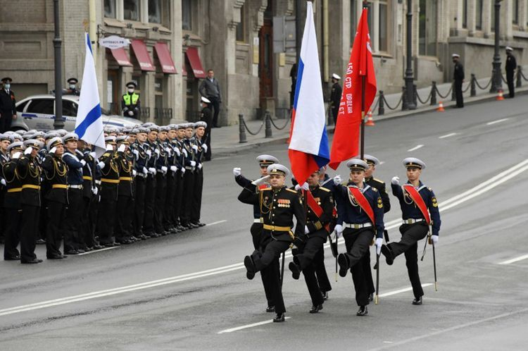 75th anniversary Victory Day Parade held in Moscow - <span class=
