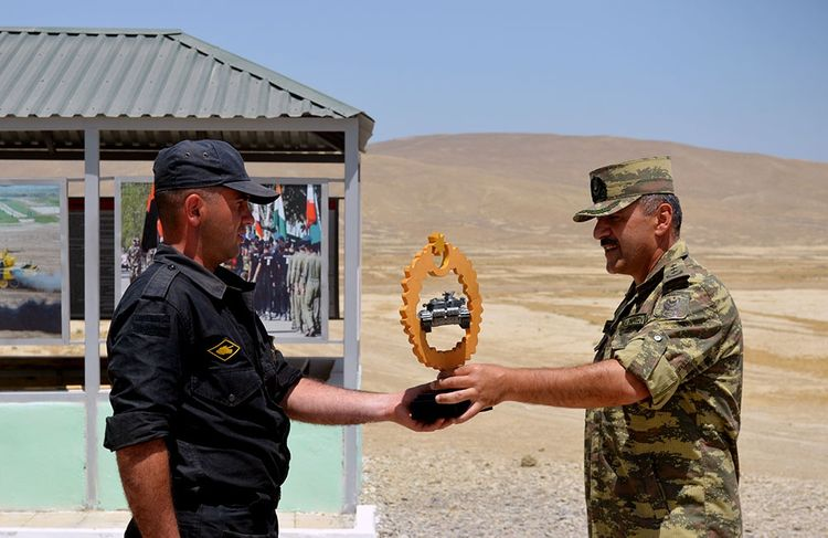 """Azerbaijani MoD: Competition for the title of """"Best Tank Crew"""" was held"""