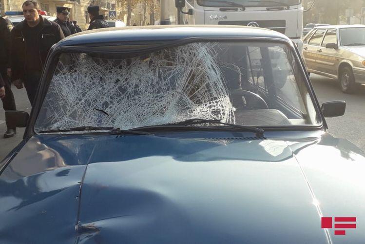Sabirabadda iki minik avtomobili toqquşub, 3 nəfər xəsarət alıb
