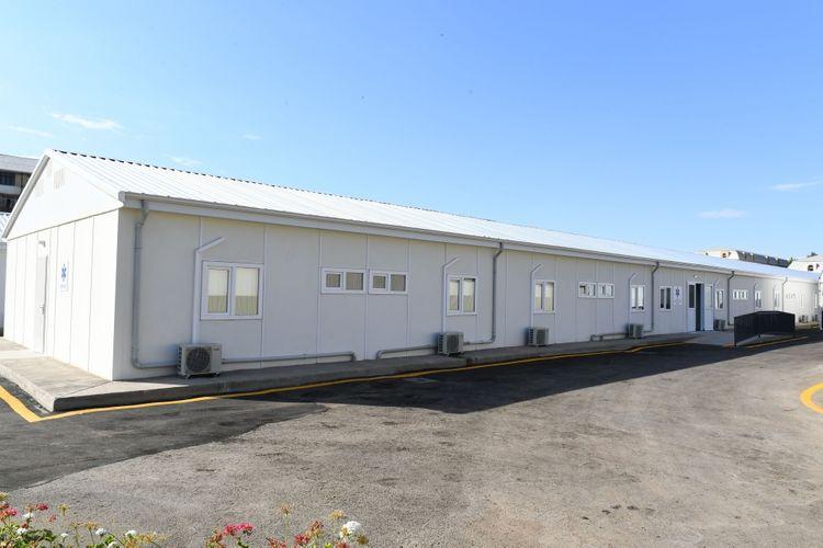 Modular hospital inaugurated in Ganja